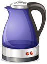 An electric kettle illustration of on a white background Stock Images
