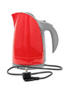 Electric kettle isolated on white background Royalty Free Stock Photography