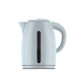 Electric kettle picture of on white background vector eps illustration Royalty Free Stock Photos