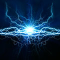 Electric lighting effect Royalty Free Stock Photo