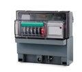 Electric meter Stock Image