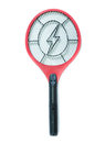 Electric mosquitoes killer mosquito killing bat on white or electronic bug zapper background Royalty Free Stock Images