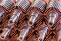 The electric motor rotor of stock Royalty Free Stock Photography