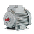 Electric motor on on white background Stock Image