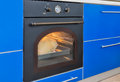 Electric oven in the style of Royalty Free Stock Photo