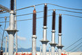 Electric power station Royalty Free Stock Photo