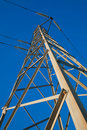 Electric pylon Royalty Free Stock Photo