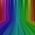 ELECTRIC RAINBOW WATERFALL Royalty Free Stock Photos