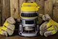 Electric Router Royalty Free Stock Photo