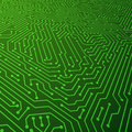 Electric scheme vector background. Circuit board components concept Royalty Free Stock Photo