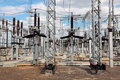 Electric substation Stock Photos