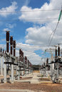 Electric substation Royalty Free Stock Photo