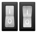 Electric switch Royalty Free Stock Photo