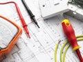 Elektrický zařízení na dům plány
