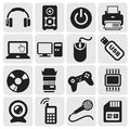 Electrical Icons set Stock Image