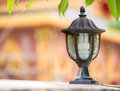 Electrical lamp the for usable and outdoor decorate Royalty Free Stock Photos