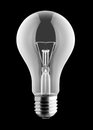 Electrical light bulb Royalty Free Stock Image