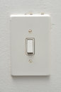 Electrical light switch Royalty Free Stock Photo