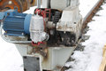 Electrical mechanical actuator wheel gantry crane