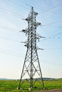 Electrical power line Stock Photo