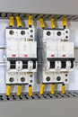 Electrical protection Stock Photos