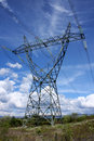 Electrical pylon Royalty Free Stock Photo