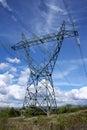 Electrical pylon Royalty Free Stock Photo