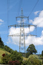 Electrical pylon Royalty Free Stock Photos
