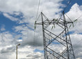 electrical Pylons On Clo...