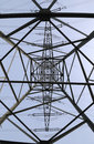 Electrical tower Stock Image