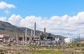 Electricity generating plant tracy power natural gas powered facility reno nevada Stock Photography