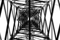 Electricity grid Royalty Free Stock Photo
