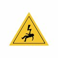 Electricity hazard sign vector design