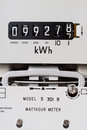 Electricity meter Royalty Free Stock Photo