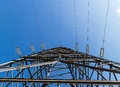 Electricity Pylon 2 Royalty Free Stock Photo