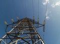 Electricity Pylon 3 Royalty Free Stock Photo