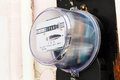 Electricity supply meter Royalty Free Stock Photo