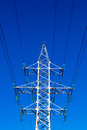 Electricty Mains Pylon Royalty Free Stock Photo
