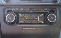Electronic air control condition dashboard in modern car Stock Photos