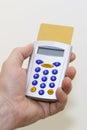 Electronic banking token