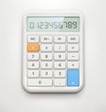 Electronic calculator Stock Image