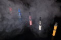 Electronic cigarettes Stock Images