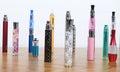 Electronic cigarettes Stock Photos