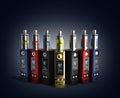 Electronic cigaretts Device box mod to smokeless smoking 3d rend Royalty Free Stock Photo