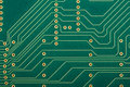 Electronic circut board Stock Image