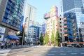 Electronic city Tokyo Japan