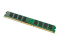 Electronic collection - computer random access memory RAM modu Royalty Free Stock Photo