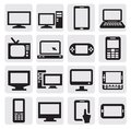 Electronic devices Royalty Free Stock Images