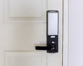Electronic door lock Royalty Free Stock Photo