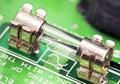 Electronic fuse Royalty Free Stock Photo